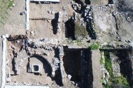 Situs arkeologi aalah aatu masjid tertua ditemukan di Tiberias, Israel, diduga dibangun oleh Shurahbil ibn Hasana(Rafael Langier Goncalves via KOMPAS.com)
