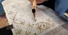 Menjelaskan Cara Membuat Batik Lukis