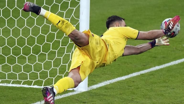 (Gianluigi Donnarumma/Pahlawan Kemenangan Italia Dok: bola.com)