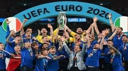 Italia Juara EURO 2021 (Sumber: tribunnews.com)