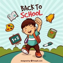 Semangat kembali ke sekolah (Sumber gambar: freepik.com)