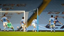 Luis Diaz mencetak gol melawan Man. City (sports.detik.com)