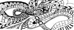 lustrasi bebas jalan memutar memahami diri sendiri (ilustrasi Oleh Joko Dwi )