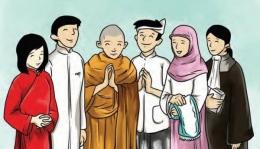 Indahnya Toleransi Beragama. Sumber Media Indonesia