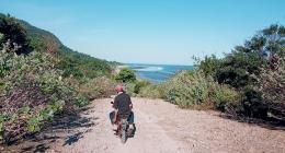 Dokpri. Jalan menuju pantai Sama