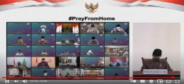 Sumber : tangkapan layar Youtube Sekretariat Presiden
