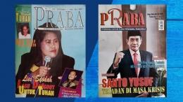 selama hampir satu tahun pernah menjadi kotributor di majalah Praba sekitar 1999 - 2000 (katolikana.com)
