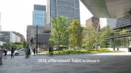 Dokumentasi pribadi - Monurouchi Tokyo, suasana dan kegiatan warga Jepang dalam kesehariannya, di lingkungan perkantoran dan bisnis ......