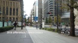 Dokumentasi pribadi - Area Tokyo Metropolitan Monurouchi, jalan menuju Tokyo International Forum, dari Ouzo Monurouchi .....