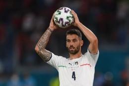 Spinnazola langsung memukau sejak laga pertama Euro 2020. Sumber: Mike Hewitt/via Kompas.com