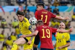 Euro 2020 sudah diisi banyak pemain muda potensial. Sumber: AFP/Pierre-Philippe Marcou/via Kompas.com