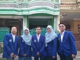 5 mahasiswa UM penggagas EDUBOT. Sumber Gambar: Dokpri