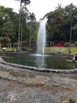 Kolam renang dg air terjun (dok. pribadi)