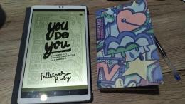 Cover buku 'You Do You'   Foto oleh Trian Ferianto