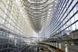 www.thworld.com - Ketika kita dari dalam bangunan dan bisa melihat lingkungn sekitar bangunan, karena faade nya dari kaca .....