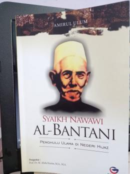 Buku Syaikh Nawawi Al-Bantani. Koleksi Pribadi