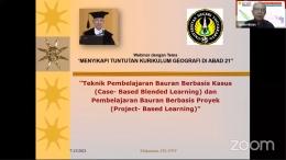 Mukminan [FIS-UNY] - Seminar Nasional Geografi 2021/Dokpri