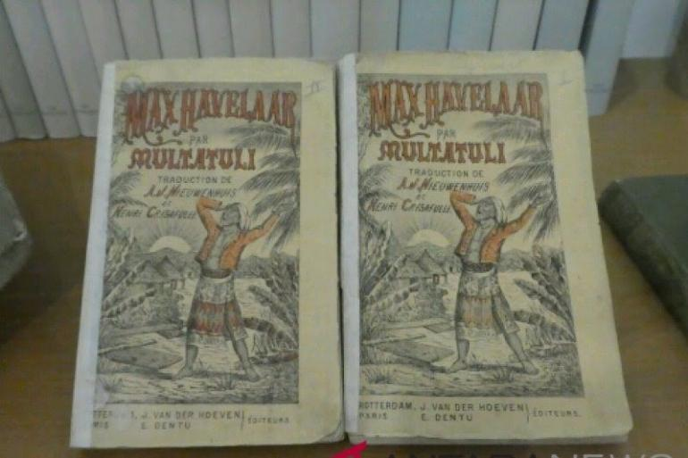Buku Max Havelaar karya Multatuli di Museum Multatuli, Rangaksbitung, Lebak, Banten. Via antaranews.com