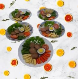 Ilustrasi gambar penyusunan Salad Solo dokpri Yuliyanti