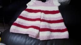 Baju gaun warna warni buat Hayley(dok pribadi)