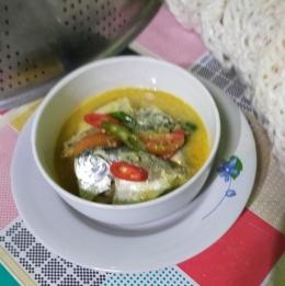 Gulai Ikan Semar telah siap disantap  Foto: Siti Nazarotin