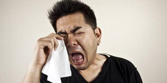 Cengeng, orang menangis. Sumber gambar ; merdeka.com