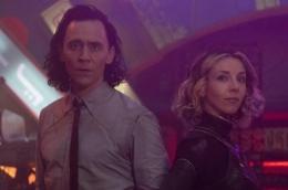 Loki bekerja sama dengan Sylvie | Dok. Marvel Studio