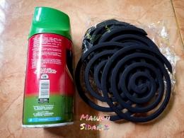 Obat nyamuk bakar dan insektisida (Dokumentasi Mawan Sidarta)