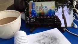 Menonton SAPA PAGI via Tablet setiap pagi - Koleksi Pribadi