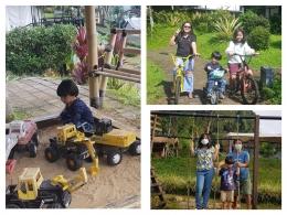 Beberapa aktivitas glamping Trizara Resort (Foto : dokpri)