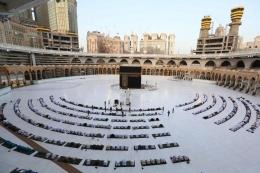 Ibadah haji merupakan napak tilas perjuangan keluarga Nabi Ibrahim a.s dalam memenuhi perintah Allah Swt (Getty Images melalui nytimes.com)