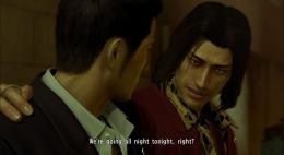 Kita akan diperlihatkan hubungan antara Kiryu dan Nishiki sebelum mereka menjadi musuh di game pertama. Sumber: yakuza.fandom.com