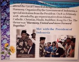Bertemu dengan Presiden Joko Widodo di Istana Bogor (dok pri)