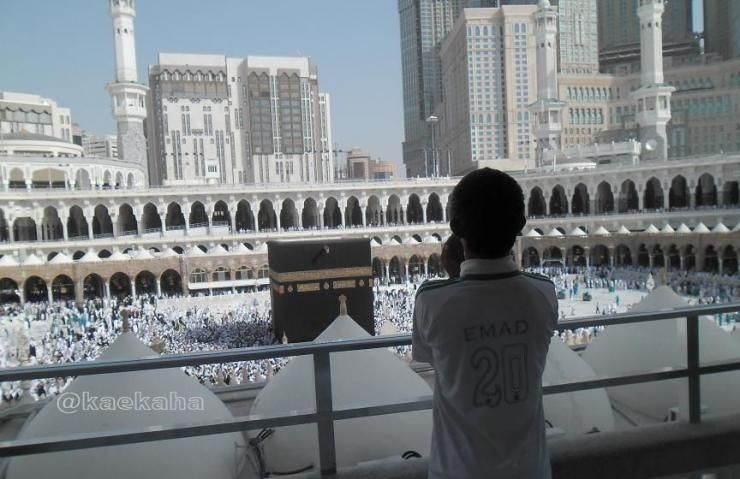 Suasana Masjidil Haram di Makkah | @kaekaha