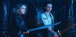 Saat Loki dan Sylvie berhadapan dengan Kang. Sumber : Collider