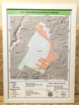 Peta Penggunaan Lahan Desa Glanggang (Dokumentasi Pribadi)