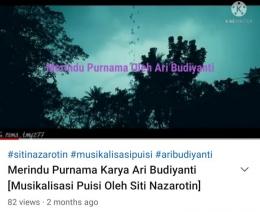 Tangkap Layar Akun Youtube kompasianer mbak Siti Nazarotin (dokpri)