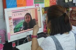 Guru Sekolah Cikal berperan untuk memberikan masukan dan tanggapan melalui konferensi yang dilakukan secara individual alias satu per satu. (Dok. Sekolah Cikal via Kompas.com)