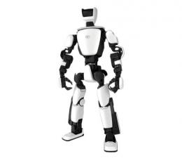 Robot berbentuk manusia yang lebih manusiawi, yang akan dikembangkan lebh jauh lagi untuk kebutuhan kehidupan ssehari.   .olympics.com