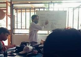 Presentasi materi di GMKI Palu. Doc Pri