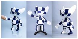 Robot Miratowa, dengan berbagai mimic wajah yang bisa berubah, dan bisa mengenali orang2 di drkatnya dan bagaimana resaksinya.   olympics.com