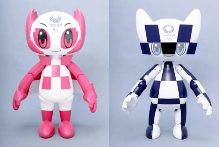 Robot Someity dan Miratowa, mascot Paralimpiade dan Olimpiade Tokyo 2020   shinyshiny.tv
