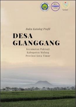 Cover Buku Katalog Profil Desa Glanggang