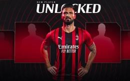 AC Milan resmi mendatangkan Olivier Giroud dari Chelsea(AC Milan) via Kompas.com