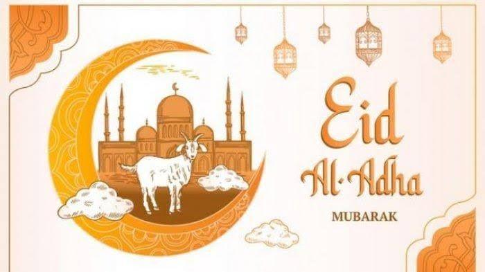 ilustrasi Idul Adha 1442 Hijriah | sumber gambar : bali.tribunnews.com