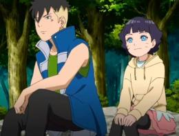 Kawaki dan Himawari, highlight anime Boruto episode 209. (Sumber: narutocouple.fandom.com)
