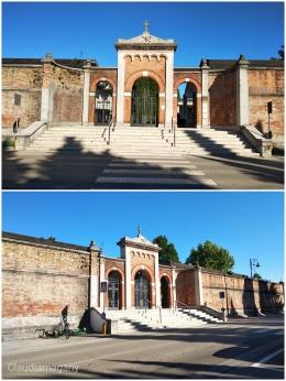 Kompleks Pemakaman di Oderzo (Foto. dok. Pribadi)