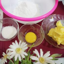 Ilustrasi bahan kulit pie susu teflon. (Dukumentasi pribadi)