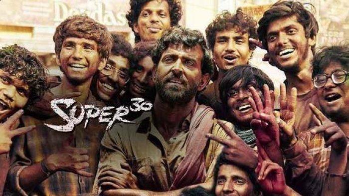 Film Super 30 yang dibintangi Hrithik Roshan  Sumber: Phantom Films/Bollywood News via jateng tribunews.com