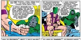 Rama Tut saat berdialog dengan Doctor Doom. Sumber : Screenrant